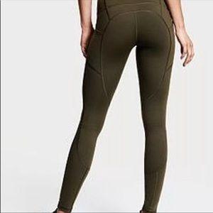 VSX olive knockout leggings